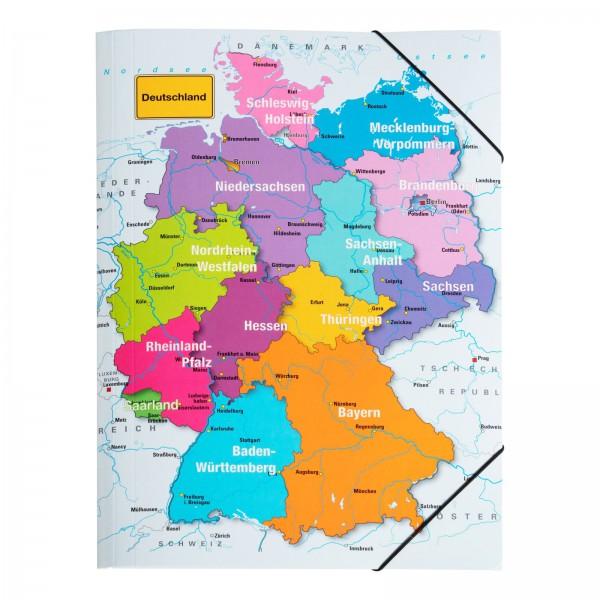 Gummizugmappe A3 Deutschland