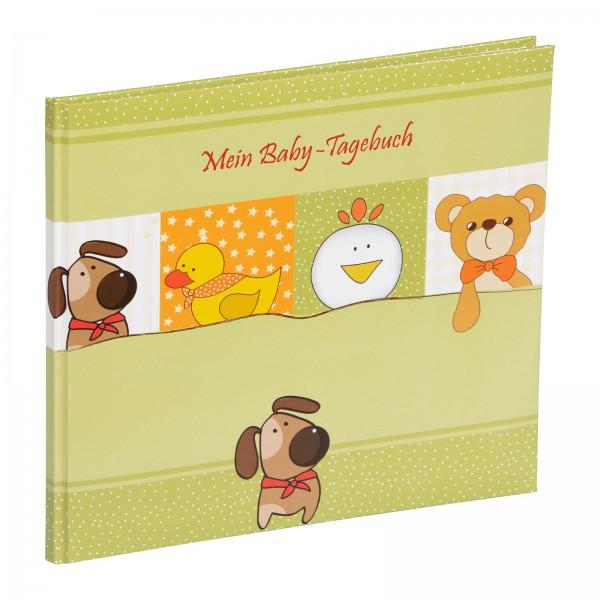 Babytagebuch 24x23 cm Unser Schatz