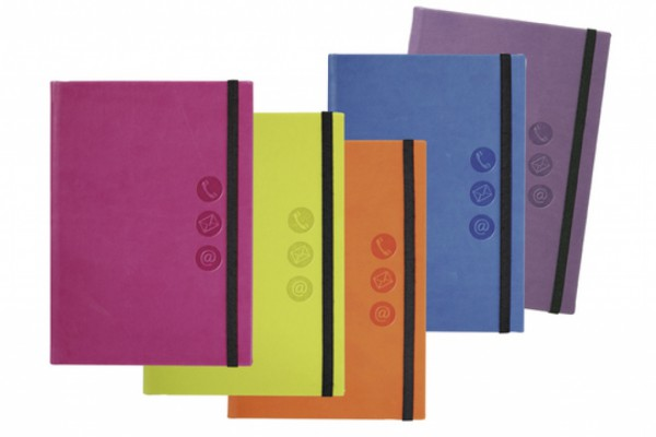 Adressbuch (farbig sortiert)