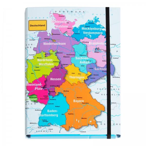 Sammelbox A4 Deutschland