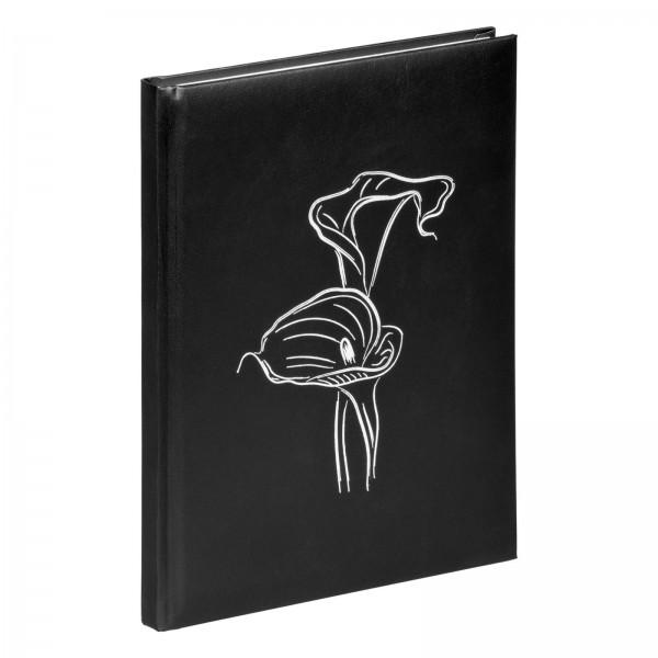 Kondolenzbuch 19x26 cm Calla