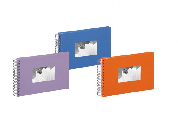 Passepartout Spiralalbum 24x17 cm