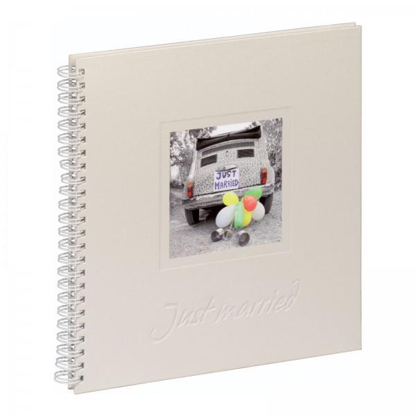 Hochzeits Spiralalbum 31x32 cm