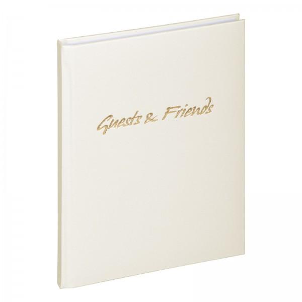 Gästebuch 19x26 cm Guest & Friends