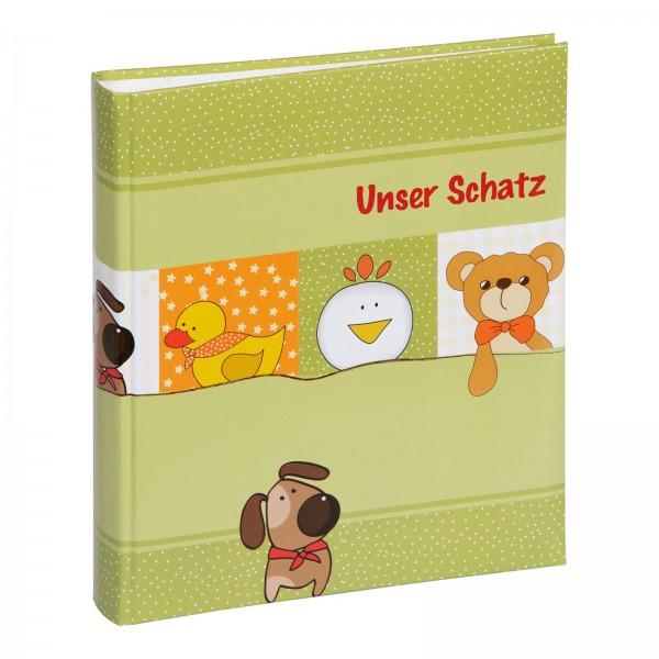 Babyalbum 21x25 cm Unser Schatz