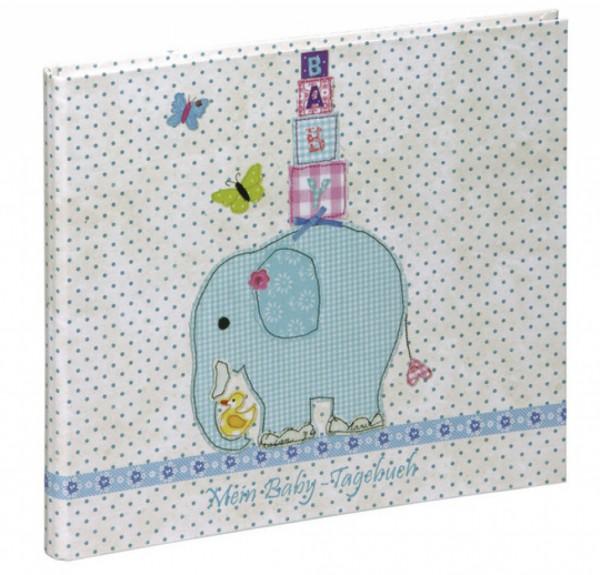 Babytagebuch Olifant (Motivdruck laminiert)
