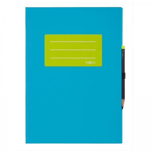 Notizbuch A5, Style up, mit farblich abgestimmten Stift