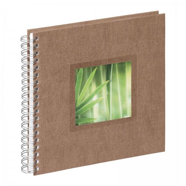 Spiralalbum 24x25 cm Nature Bamboo